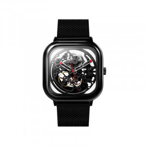 Xiaomi CIGA Design Full Hollow Automatic Mechanical Watch Leather & Chain Strap (Square Shape)